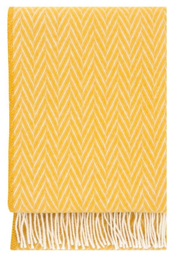 Decke Iida gelb - weiß von Lapuan Kankurit