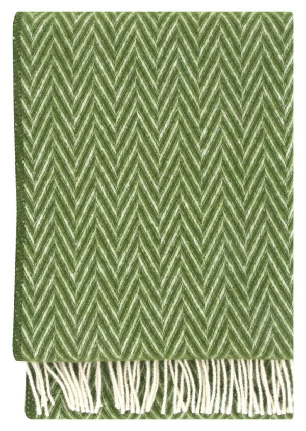 Decke Iida grün - weiß von Lapuan Kankurit