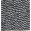 Decke Iida schwarz - weiß von Lapuan Kankurit